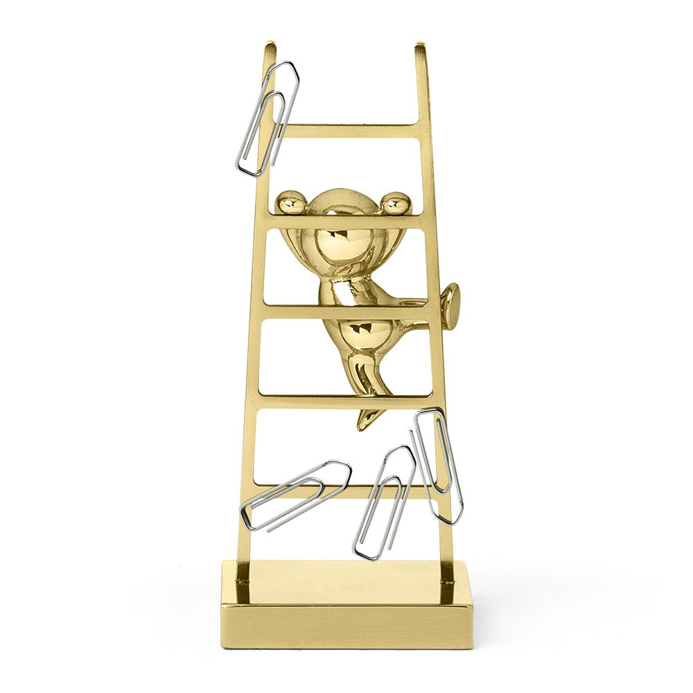 paper clips collector, monkey climbing a stair