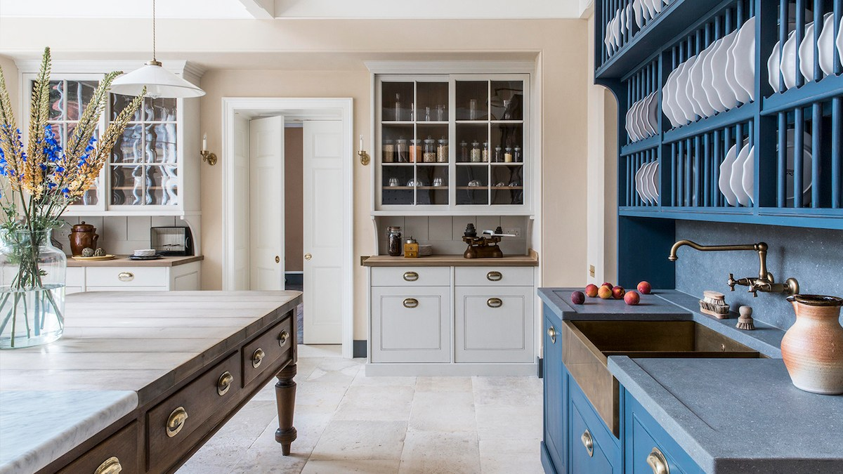 The Country House Style Kitchen