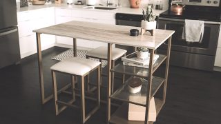 Kitchen islands and carts for small kitchens