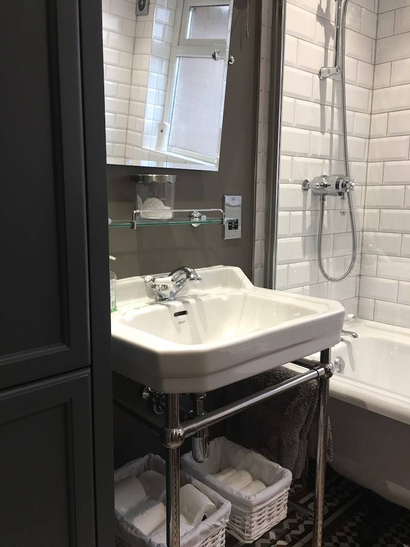 Bathroom remodel in Edinburgh.