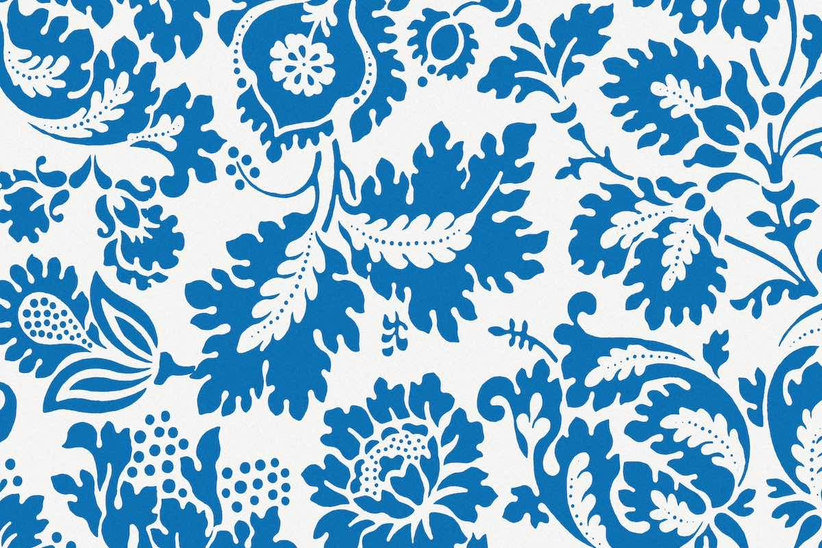 Venetian pattern by William Morris.